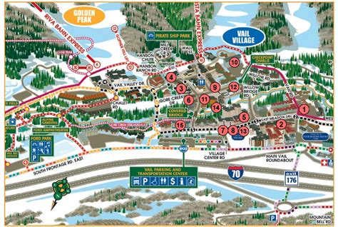 vail map vail piste maps and ski resort map powderbeds