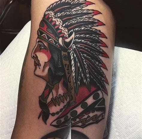 tattoo new york age chief by nick york tattoonow