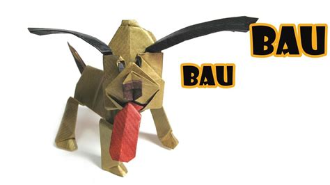 what do i need to build a dog house how to make an origami dog 171 origami wonderhowto