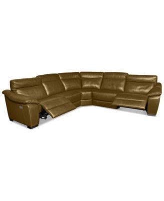 gennaro 5 pc leather sectional sofa 10 best living room ideas images on living