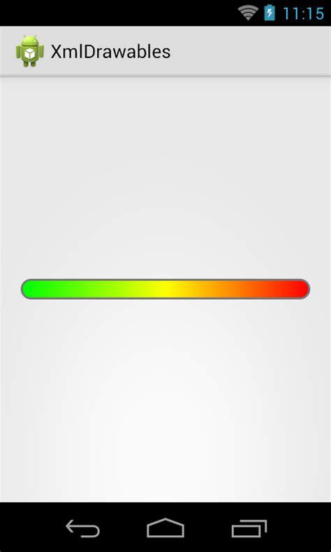 android progressbar android dev exles android custom horizontal progressbar