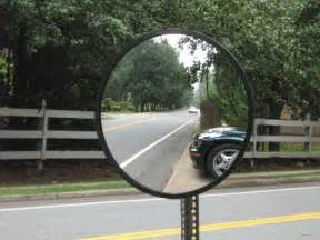 driveway mirror home depot convex traffic safety mirrors from reflection products inc