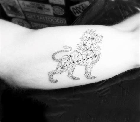 40 constellation tattoos for men star formation designs