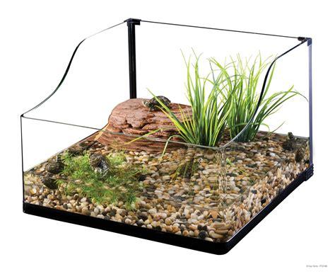 turtle l replacement glass kit tortuguera exo terra con filtro imitaci 243 n roca grava
