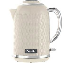 Breville Cream 4 Slice Toaster Buy Breville Curve Vkt019 Jug Kettle Cream Curve