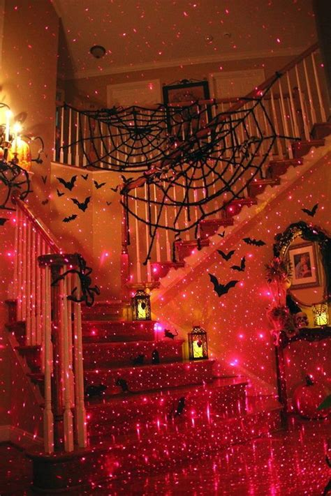 halloween laser lights for house 30 diy spooky halloween lights hative