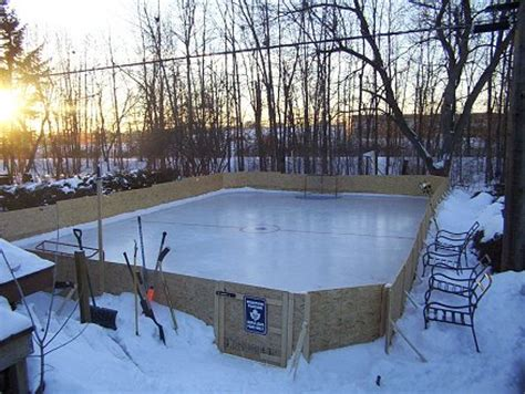 backyard rink kit winter preview backyard ice rinks the spokesman review