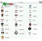 Car Logo Quiz Level9 Voiture Niveau9 Logos With Names