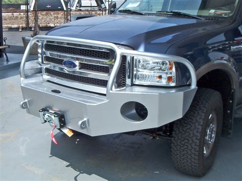 ford truck bumpers ford truck winch bumper 2005 2007 aluminess