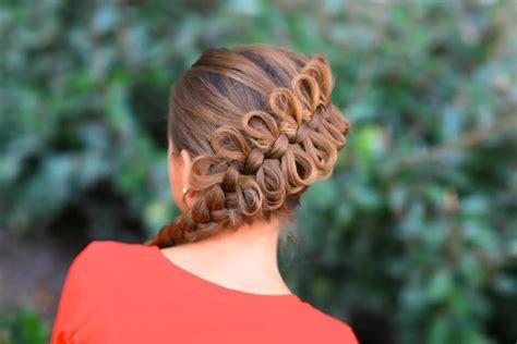 braided hairstyles bow women fashion updates diagonal bow braid hairstyle for girls