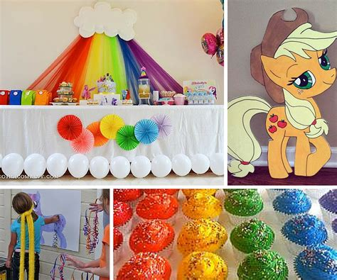 little decorations my little pony party ideas pony party ideas at birthday