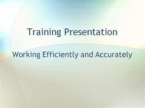 employee training template employee training powerpoint