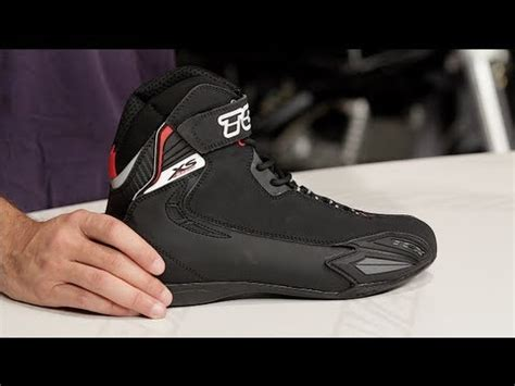 sport boots c tcx x square sport boots review at revzilla com youtube