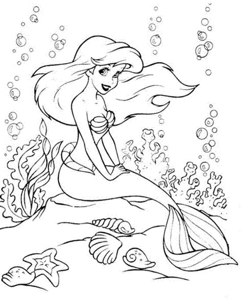 barbie ariel coloring pages coloring pages fun ariel a mermaid tale coloring pages
