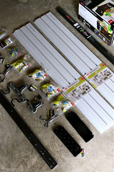 fasttrack garage organization system how to get your garage organized in 1 weekend cozy
