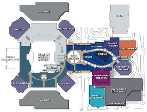 mall of america phase ii expansion da man com
