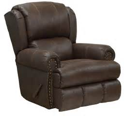 Leather Recliner Catnapper Dempsey Leather Recliner By Oj Commerce 659 00