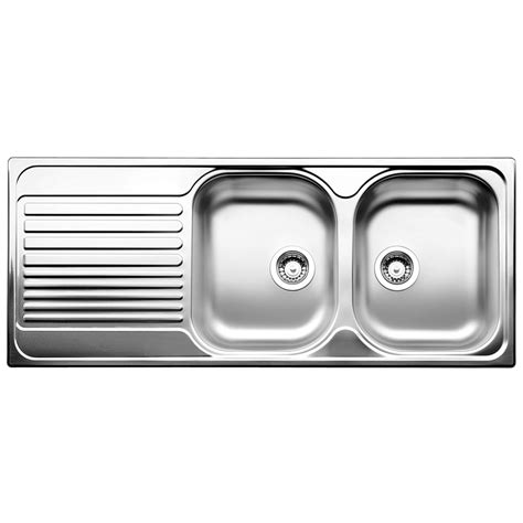 Bunnings Kitchen Sinks Kitchen Sink Bunnings Blanco 80cm Tipo Right Bowl Stainless Steel Inset