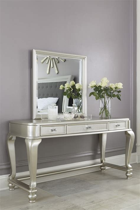 vanities for bedrooms with mirror coralayne vanity mirror b650 22 25 bedroom vanities