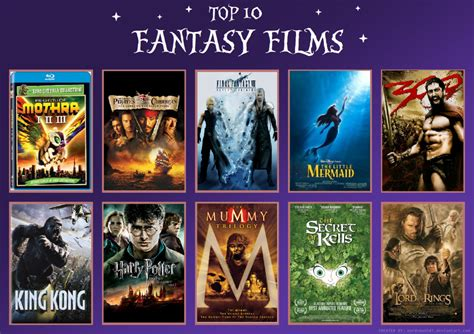 film fantasy top 10 my top 10 fantasy films by td cer on deviantart