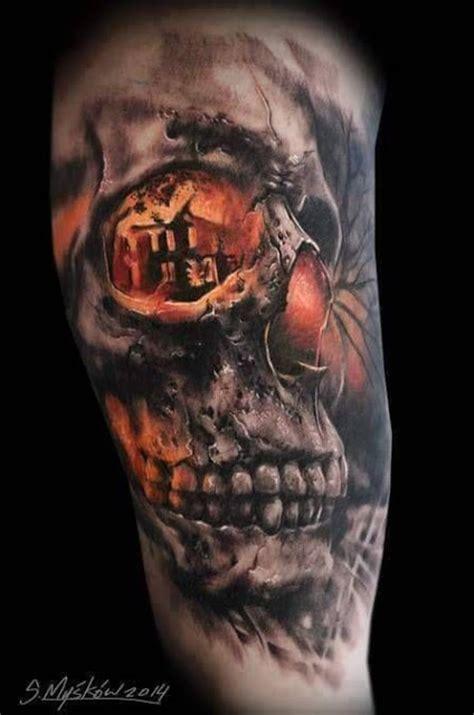 tattoo 3d caveira 15 imagens 218 nicas de caveiras em tatuagens 3d skull tattoos