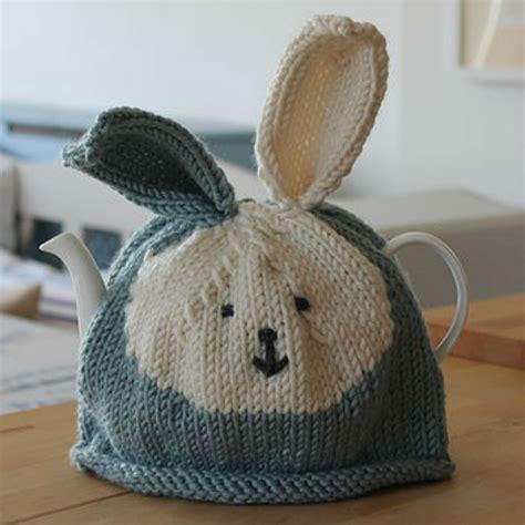 pattern knitting tea cosy bunny rabbit tea cosy knitting kit toys pinterest