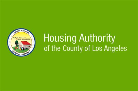 la county housing authority la county housing authority receives hud funding homeless initiative