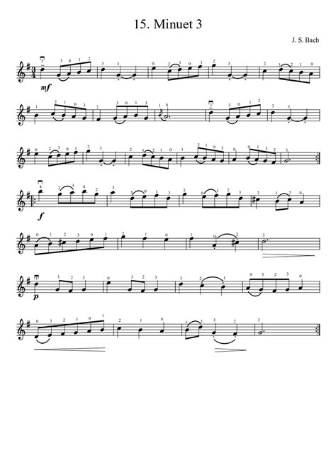 Minuet 3 Suzuki Violin Suzuki Violin Book 3 Pdf Suzuki Cars