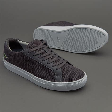 Sepatu Merk Lacoste sepatu sneakers lacoste l 12 12 grey