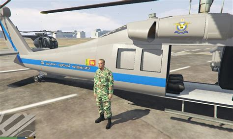 mod gta 5 force sri lanka air force helicopter gta5 mods com