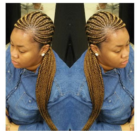 nigerian straight back braids styles pics straight back ghana braids to try out this season with