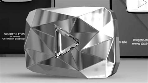 youtube gives new diamond play button to channels with 10 a youtuber with 44 million subscribers abandoned by
