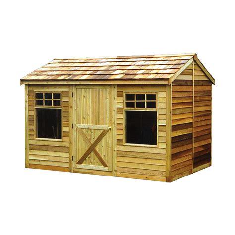 cedar shed  ft   ft haida shed lowes canada