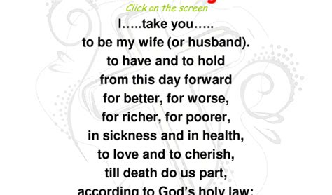 wedding vows traditional obey 20 traditional wedding vows exle ideas you ll