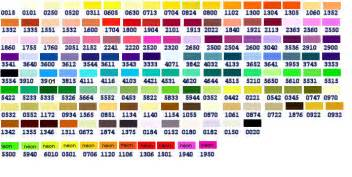 embroidex color chart 16 best images of sulky embroidery thread chart sulky