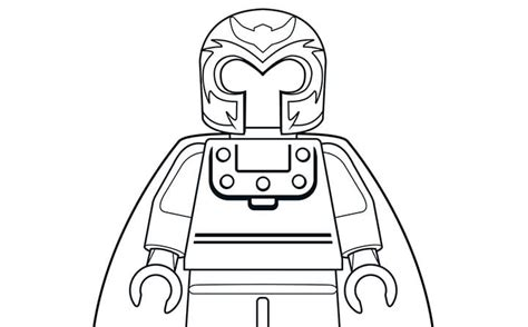 mighty micros magneto coloring page activities