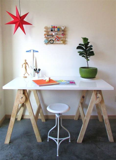 awesome diy craft tables   plans shelterness
