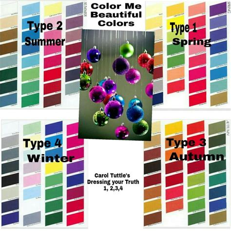 color me 2 color me beautiful colors carol tuttle s dyt type 1 2 3 4
