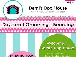 demis dog house dog boarding near houston texas tx boarding com