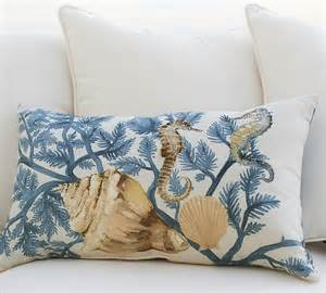 Pbteen Duvet Painted Coastal Pillows
