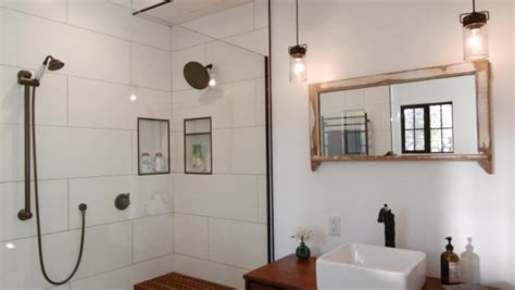diy network bathroom renovations modern meets rustic in a bathroom remodel diy