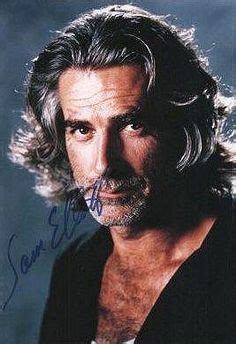 sam elliott long grey slickback hairstyle and handlebar mustache 1000 images about road house on pinterest patrick