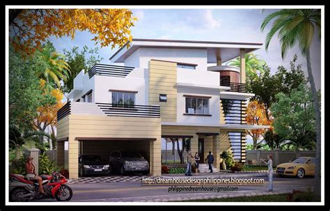 philippine dream house design  storey house
