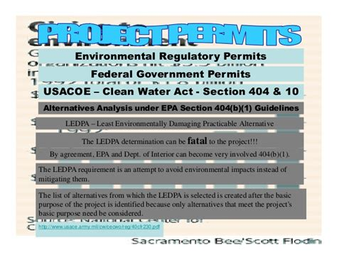 usace section 10 permit usace section 10 permit 28 images ser env handbook vol