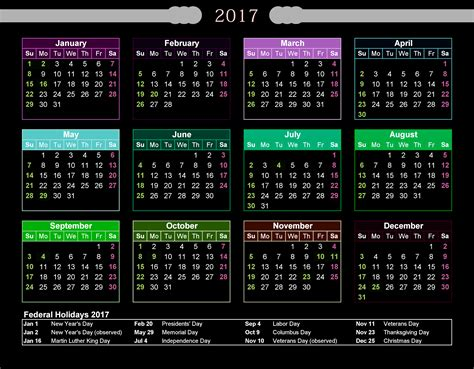 2017 2018 calendar free printable two year excel calendars