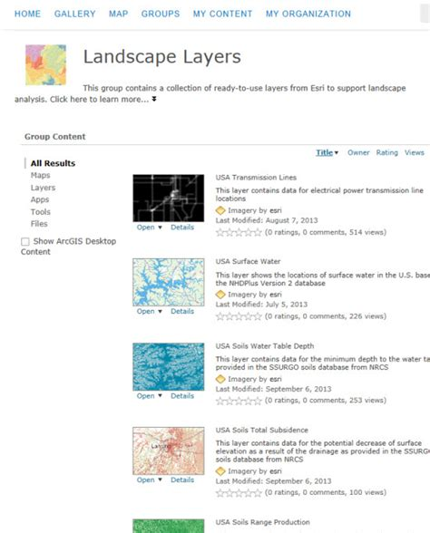 landscape layout in arcgis welcome to esri landscape layers arcgis blog