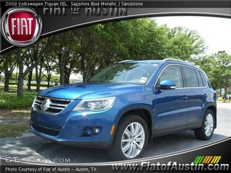 2009 Volkswagen Tiguan Sel by Sapphire Blue Metallic 2009 Volkswagen Tiguan Sel
