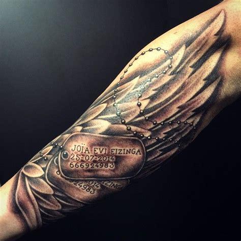 tattoo inspiration dog tattoo trends 35 inspirational dog tag tattoo designs
