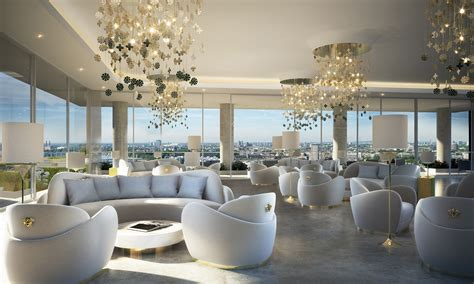 versace home interior design 50 storey aykon nine elms to feature interiors by versace