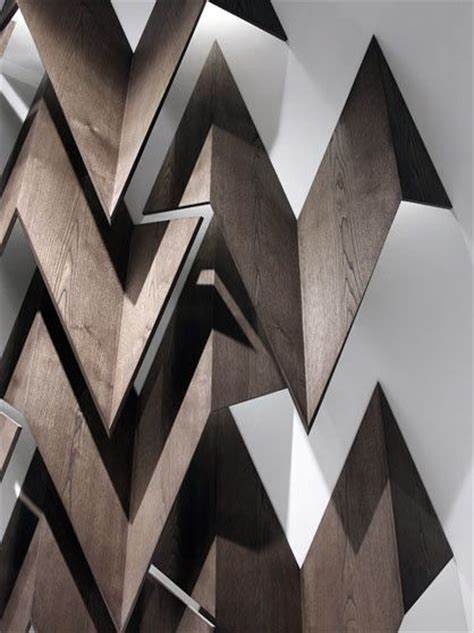 zig zag wood pattern wood chamfered zig zag feature in ceiling interior
